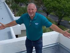 paul bange on roof